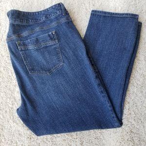 Z CAVARICCI jeans straight leg medium wash 24W